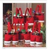 30PCS FASHION,X'MAS candy bag ,Christmas Santa Candy Gift Bag,Christmas decorations