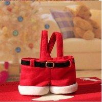 FASHION,X'MAS candy bag ,Christmas Santa Candy Gift Bag,Christmas decorations100PCS