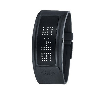 new arrival 125 LED ligth LED watches, fashion Matrix LED watches, white box packed  DHL Free ship