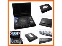 "7.8""panel portable dvd with AnalogTV,DVB-T,Game,MPEG4, DIVX, USB, Card Reader function  DHL.EMS.FedEx"