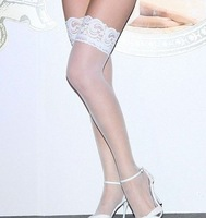 Sexy ladies' stockings knee high socks fashion thigh highs stockings Wholesale 5color Free shipping