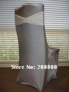 Free shipping/High quality gray spandex chair cover/High quality grey lycra chair cover