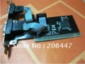 Brand New 10psc/lot PCI to Serial 2-port Parallel 1 Port Controller Card based on Altom 0389+ Free Shipping!