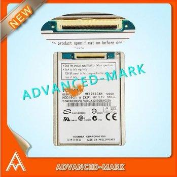 "HDD 120GB 1.8"" 4200 RPM MK1214GAH CE ZIF IDE Hard Disk Drive ForToshiba , Brand New & Test OK"