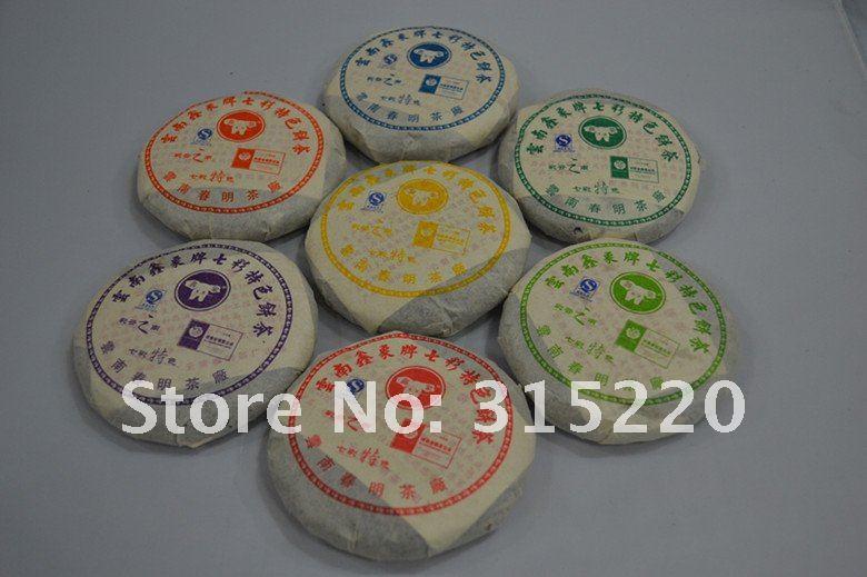 Чай Пуэр 2008 7 /700g/7cakes super 700g