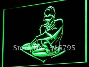 i817-g DJ Disc Jockey Disco Music Bar Neon Light Sign