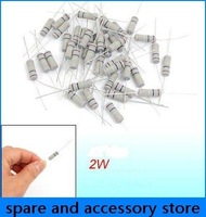 wholesale thermistor 500pcs power rating 2W 1K ohm 5% carbon film resistor pins four-color