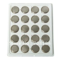 20 pieces CR2450 2450 DL2450 ECR2450 3V Lithium Button Cell Coin Battery Wholesale free shipping