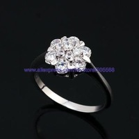 free shipping 50 pcs/lot fashion ring silver ring 925 ring high-grade ring best jewelry best gift