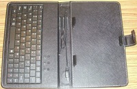 2013 7 inch tablet pc Stand standard USB keyboard,leather case with keyboard  shipping by china post