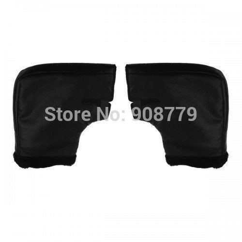 Free Shipping Brand New Motorcycle/Snowmobile /Motorbike Handlebar Muffs Black Hand Covers Guaranteed 100%(China (Mainland))