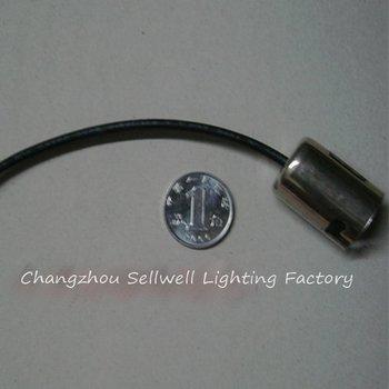 NEW!Brake light turn signal lamp base BA15S single set of base metal patch cord tail lamp wiring harness seat LED053