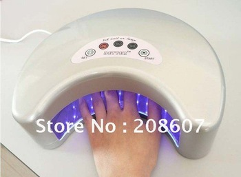 Free Shipping LED Nail UV Lamp Machine/12W Nail Art Machine,Nail Tool, Nail Beauty,Nail Drier Machine,Gel Uv Lamp