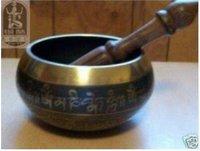Unusual Tibet Singing Bowl free shipping