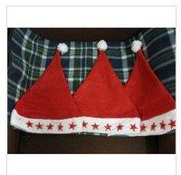 200pcs Free shippingLED blink christmas hat(Non-woven+LED light),LED santa hat,christmas decoration