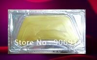 100pcs 24K karat Magic Collagen Crystal gold Neck Mask,Anti-aging,Moisturizing