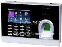 BL202 Multi-media Fingerprint Time Attendance TFT 3.0 Screen inch Fingerprint RFID Time Attendance USB fingerprint=3000