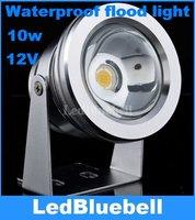 12V 10W LED Waterproof Floodlight Lamp, LED Underwater Light White 850lm Outdoor Lamp