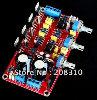 2.1 LM1875 power amplifier board have a fever plate