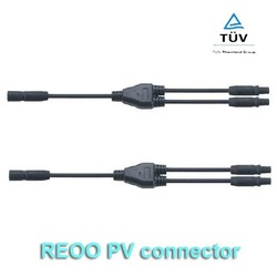 Waterproof solar Y Branch Connector,MC3 Y branch connector,Rated Current 30A,IP67,Reliable and Safe For PV Panel Connection(China (Mainland))