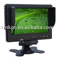 7inch LCD camera Monitor (HDMI/ YPbPr/AV input)  KP6067H/Y/A