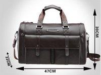 Wholesale high quality men travel laptop bag, Genuine Cow leather Men' briefcase