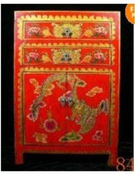 Fine Chinese Tibet LARGE folk rosewood Furniture 100% free shipping