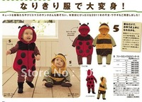 Baby Rompers/Animal prints bee and ladybug coat Kids coat /Baby sweaters/Kids Coat for WINTER