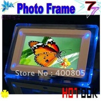 Dropship! 7 inch Digital Photo Frame ,digital picture frame Christmas Gift with Retail Box  -- free shipping