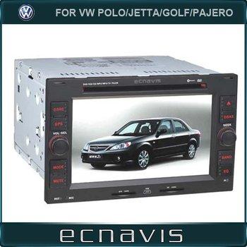 Car DVD Player GPS For VW Passat B5/BORA/POLO/JETTA/GOLF/Pajero with bluetooth gps navigation