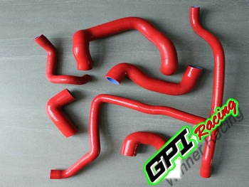 for BMW E30 M20 320i/325i 89 90 91 92 RED performance Coolant Silicone Hose  silicone hose PIPE,auto parts