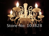 free shipping modern style chandelier/ crystal lamp for home lighting e14 6 lamp