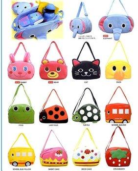 Wholesale New Linda Children Baby Kid Backpacks Smooth Kindergarten bag zoo Satchel (PU) 20pcs/lot Hot sale