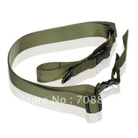 Airsoft 3 Point Gun Belt(Olive Green)