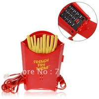 Super Fun Lifelike Red French Fries Shape Telephone KXT-115
