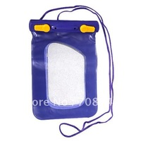Multifunctional Waterproof Dry Case Bag Pouch with Double Lockers Lanyard for Cell Phone/MP3/MP4/Digital