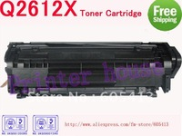 (Free Shipping) Q2612X Q2612 2612X 12X 2612 toner cartridge for HP 1010,1012,1015,1018,1020,1022,M1005MFP,3015,3020,3030,3050