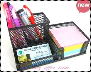 Wholesale Accessories Stationery /Office Series /Metal Pen Holder /Desktop Organizer /Top Quality