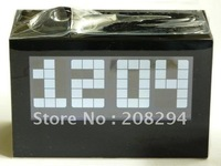 wholesale free shipping,Digital Projector LED Alarm Time Projection Clock,Clock with time&date& temperature&perpetual calender