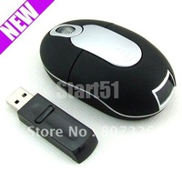 Free shipping USB MINI WIRELESS OPTICAL MOUSE FOR LAPTOP PC Computer