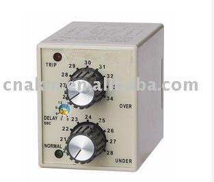 DC12V 24V 36V 48V Electronic DC Over And Under Voltage Protection Relay