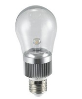 1*3W LED bulb,AC110V/220V input;D55mm*H131mm