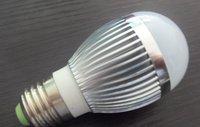 3*1W LED bulb,AC110V/220V input;D50mm*H105mm