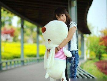 super size plush dog stuffed doll 95cm size free shipping