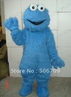 Sesame Street COOKIE MONSTER Sesame Street Mascot Costume Fancy Dress Outfit Animal mascot costume