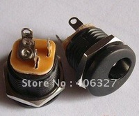 2.1mm DC power jack with nut