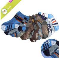 [1T-3T] Baby/Toddler/Kids/Child Cotton Socks, antiskid boy socks, 12pairs/lot,Wholesale, #94