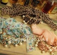 Wholesale 20pcs/lot elegant chiffon pearl bracelet/fashion jewelry/  free shipping