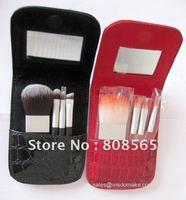 Cosmetic brush mini set in quality bag packing, 30set/lot
