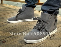 free  shipping Sneakers Daily high leisure shoes for men cowboy short boots fashion trends of England man recreational shoe